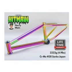 "Rama bmx hitmain 20.4"" purple fuel marki Mafiabikes"