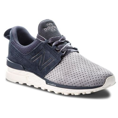 Sneakersy - ws574duo granatowy, New balance, 36-38