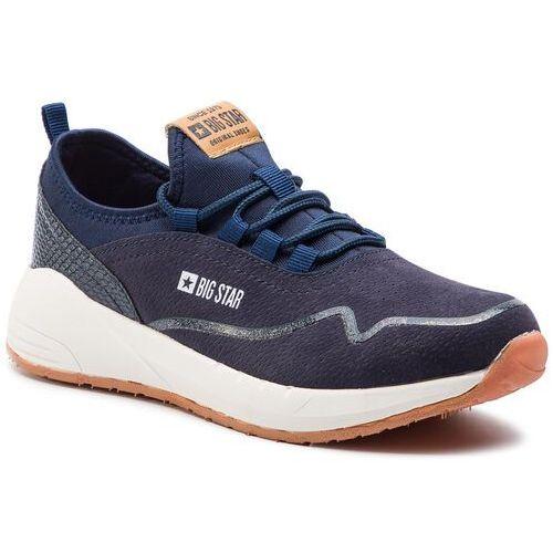 Sneakersy - dd274284 navy, Big star