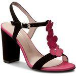 Sandały BRENDA ZARO - T1921B Antesand Negro, kolor czarny