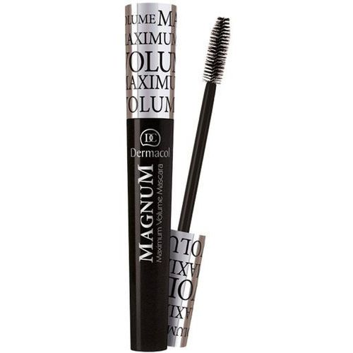 Dermacol Magnum Magnum pogrubiający tusz do rzęs Black (Maximum Volume Mascara) 9 ml - Świetny rabat
