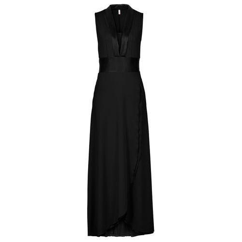 Sukienka z dżerseju bonprix czarny, w 6 rozmiarach