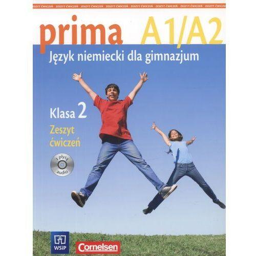 prima A1/A2. Język niemiecki dla gimnazjum. Klasa 2. Zeszyt ćwiczeń - praca zbiorowa - książka (2013)