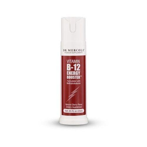 Kenay Dr Mercola Witamina B12 Energy Booster Metylokobalamina 25ml Spray - suplement diety