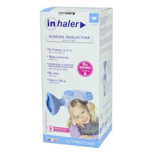 Komora inhalacyjna inhaler z maską - 9m do 6 lat Visiomed