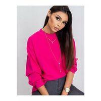 Luźna bluza dresowa damska-różowa 8F41BH Oferta ważna tylko do 2031-10-21