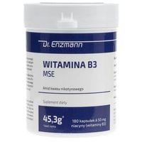 Dr. Enzmann Witamina B3 MSE - 180 kapsułek