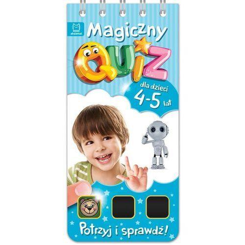 Magiczny quiz dla dzieci 4-5 lat Niebieski (76 str.)