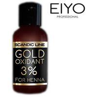 Woda utleniona Gold Oxidant 3% Scandic Line – do henny – 50 ml