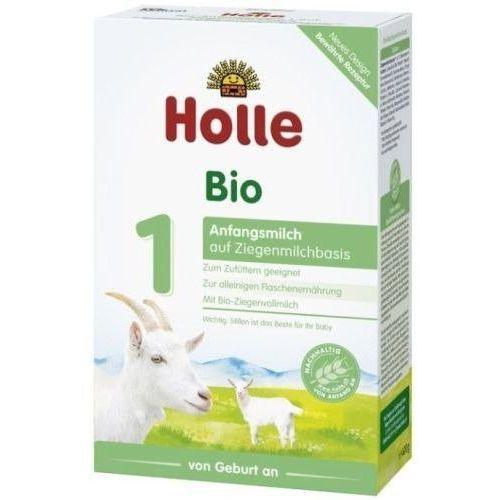 Holle - mleko 1 dla niemowląt na bazie mleka koziego od urodzenia 400g eko - Promocja