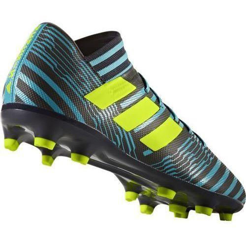 Adidas Buty s80601 (rozmiar 41) czarno-niebiesko-żółty + darmowy transport! (4058025939740)