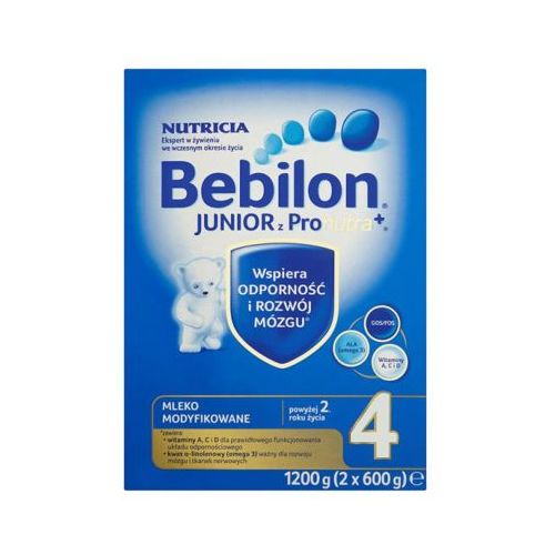 BEBILON 1200g Junior 4 z Pronutra Mleko modyfikowane powyżej 2 roku