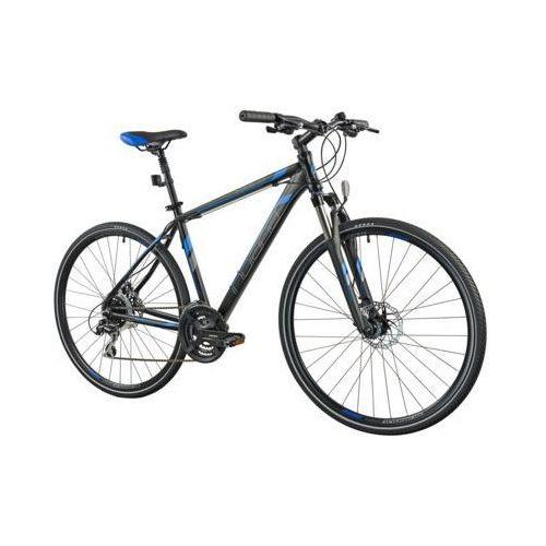 Indiana Rower x-cross 3.0 m21 czarno-niebieski darmowy transport