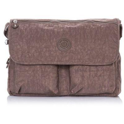 99638e53aaaf8 Brązowa uniwersalna torba listonoszka na ramię - brązowy marki Bag street  Evangarda.pl