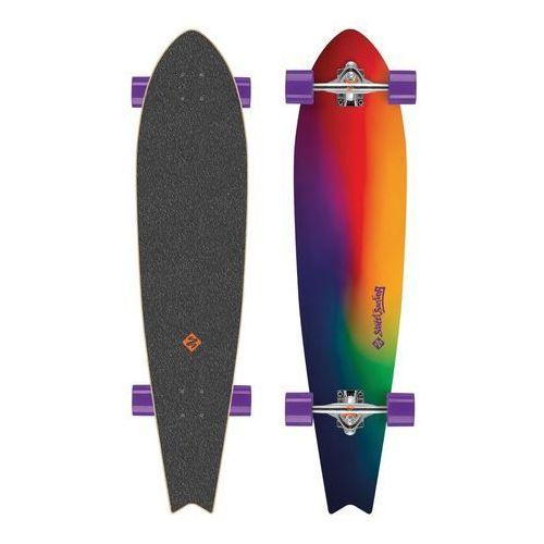 "Longboard fishtail sunset blur 42"" marki Street surfing"