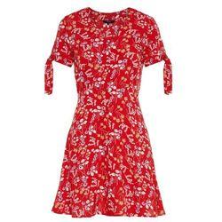VERO MODA Sukienka mieszane kolory / czerwony, kolor czerwony