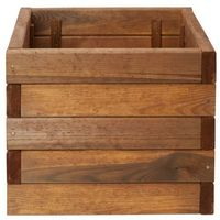 Donica drewniana Verve 40 cm