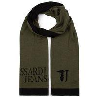 Szal TRUSSARDI JEANS - Knit Scarf Jacquard Logo Misto 57Z00146 G810