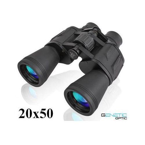 Profesjonalna lornetka 20x50 + mocowanie statywowe + pokrowiec + akcesoria. marki Genetic optic