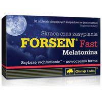 Tabletki OLIMP Forsen Fast Melatonina x 30 tabletek