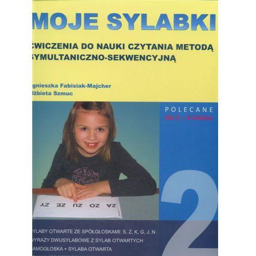 Moje sylabki Ćwiczenia do nauki czytania metodą symultaniczno-sekwencyjną Zestaw 2 (37 str.)