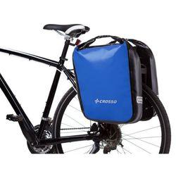 Co1009.60.05 sakwy rowerowe dry big 60l niebieskie zestaw na tył marki Crosso