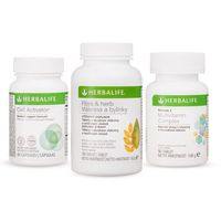 Herbalife Sada fiber zioła, kompleks multiwitaminowy, cell activator
