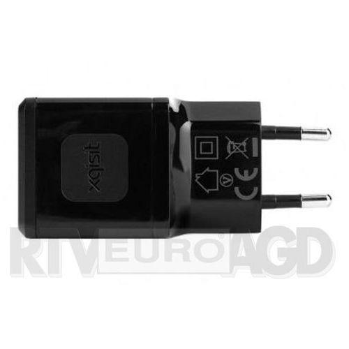 Ładowarka travel charger usb 2.4 ah czarny (XQISIT)