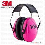 Peltor Ochronniki słuchu  kid dla dzieci nauszniki różowe