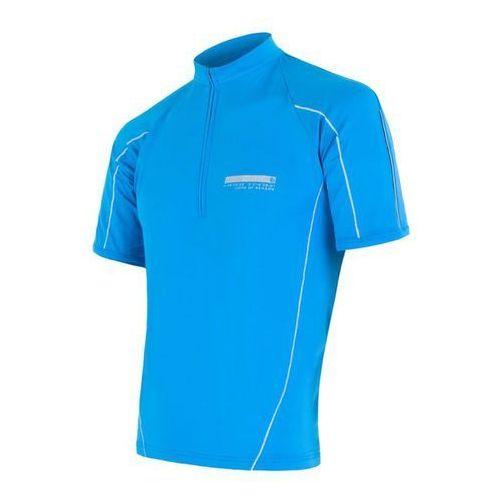 Sensor koszulka rowerowa entry blue m