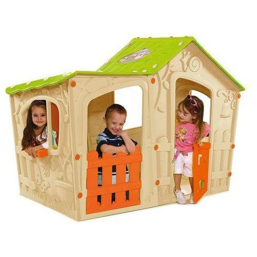 Dom zabaw dla dzieci Keter Magic Villa kremowy - Transport GRATIS! (3253929000126)