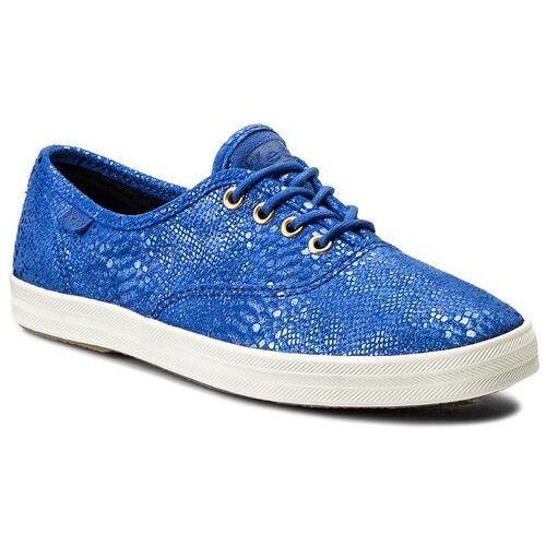 Tenisówki KEDS - Champion Exotic Shim WH54610 Blue