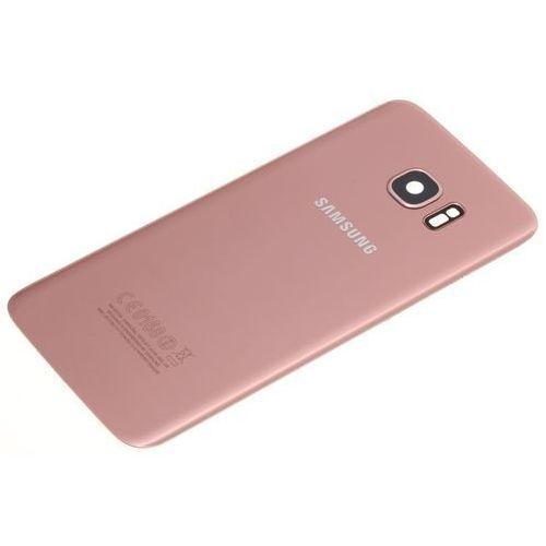 Klapka Baterii SAMSUNG Galaxy S7 Edge Oryginalna Grade B Rose Gold - Grade B \ Różowy / Pink