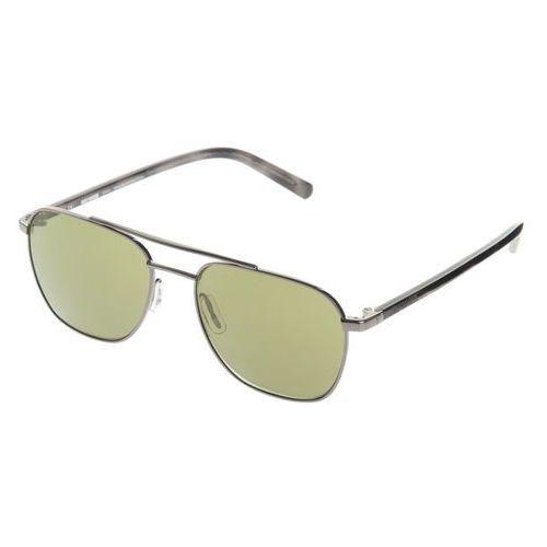Harley-davidson® okulary przeciwsłoneczne brązowy srebrny uni