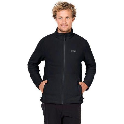Kurtka polarowa moonrise jacket men black - m marki Jack wolfskin