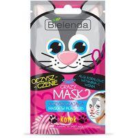 CRAZY MASK Kotek-maska oczyszczająca w płacie 3D BIELENDA (5902169030001)