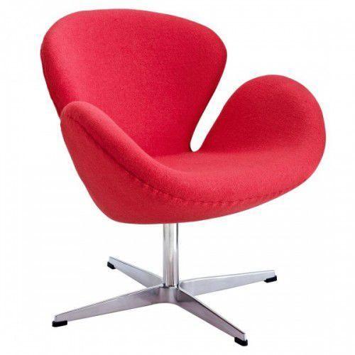 Fotel ŁABĘDŹ skóra naturalna - insp. proj. Swan Chair (5902385700702)