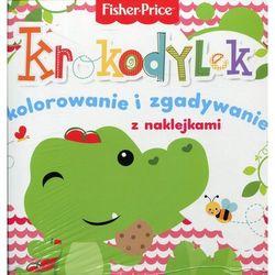 Olesiejuk Fisher price kolorowanka podłogowa krokodylek