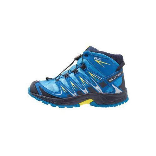 Buty trekkingowe indigo buntingnight skysulphur spring, kolor niebieski (Salomon)