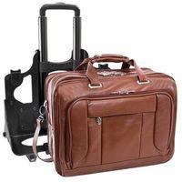 Skórzana torba męska biznesowa 2w1 mcklein west town 15704