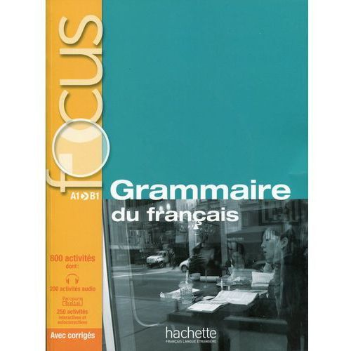 Focus Grammaire du français Podręcznik z płytą CD (288 str.)