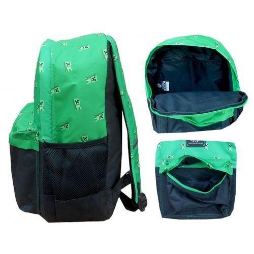 91e367bc41216 ▷ Plecak szkolny Minecraft 44cm duży zielony (Fashion UK) - opinie ...