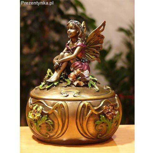 Szkatułka z aniołkiem prezent dla mamy