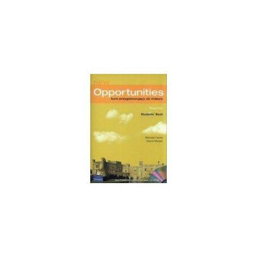 JĘZYK ANGIELSKI LO PODRĘCZNIK + PŁYTA CD. NEW OPPORTUNITIES BEGINNER (9781405832953)