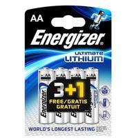 Energizer ultimate lithium l-91 aa 3+1 (bl04) darmowy odbiór w 21 miastach!