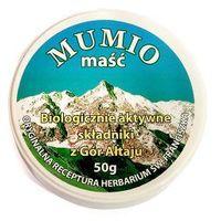Mumio maść biologicznie aktywne składniki z gór Ałtaju DARMOWA DOSTAWA OD 65 ZŁ (5901691470477)