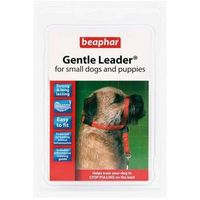gentle leader - obroża uzdowa - kolor czerwony rozmiar l - rozmiar l marki Beaphar