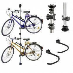 Wieszak stojak na 2 rowery ALU teleskopowy,