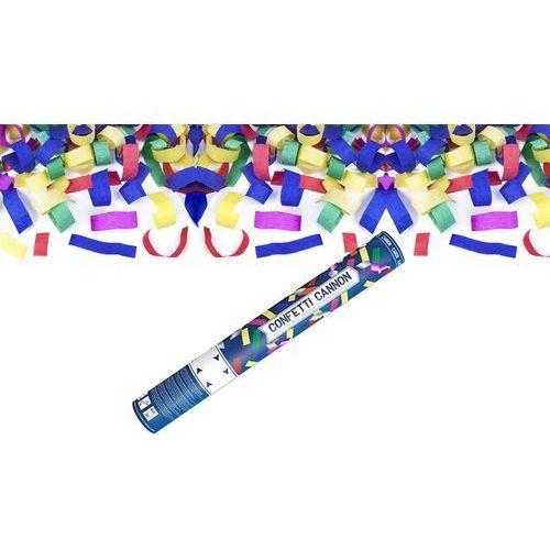 Party deco Tuba strzelająca - konfetti i serpentyny metaliczne - 40 cm - 1 szt. (5901157425911)