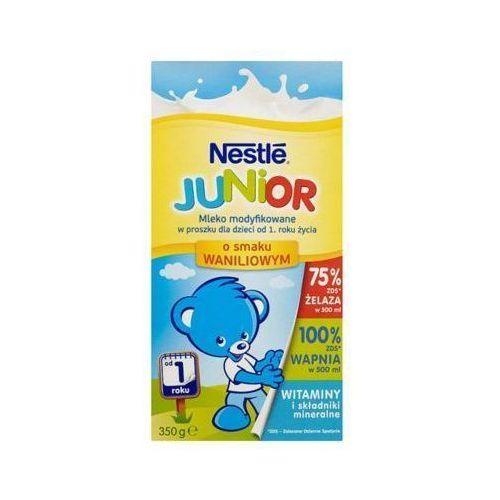Junior 350g mleko modyfikowane waniliowe dla dzieci od 1 roku życia Nestle